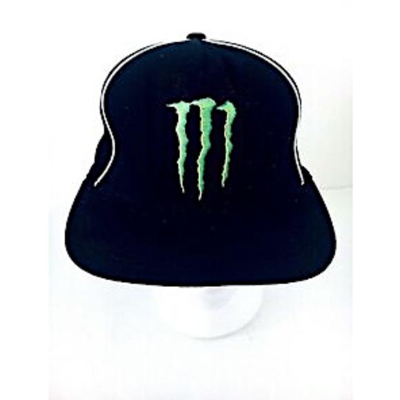 4d0f48b1 Monster Energy Baseball Cap Black Small to Medium